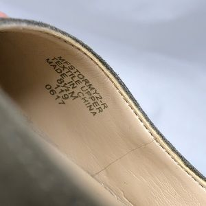 Marc Fisher Shoes - Marc Fisher Stormy2 Mary Jane flat olive green 8.5